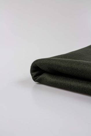 Tkanina flausz - khaki - 150cm 360g/m2 thumbnail