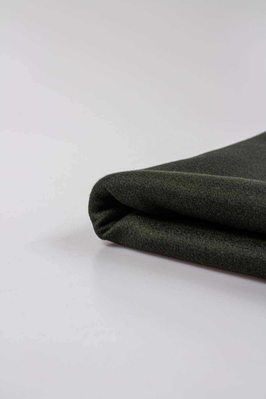Fabric - Duffle Fleece - Khaki - 150 cm - 360 g/m2