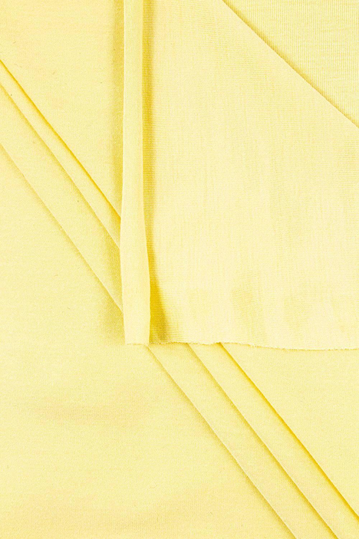 Knit - Viscose Jersey - Pastel Yellow - 165 cm - 170 g/m2