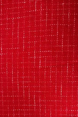 Tkanina wełniana - czerwony - 140cm 360g/m2 thumbnail