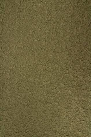 Tkanina boucle ala włosy anioła - khaki - 150cm 360g/m2 thumbnail