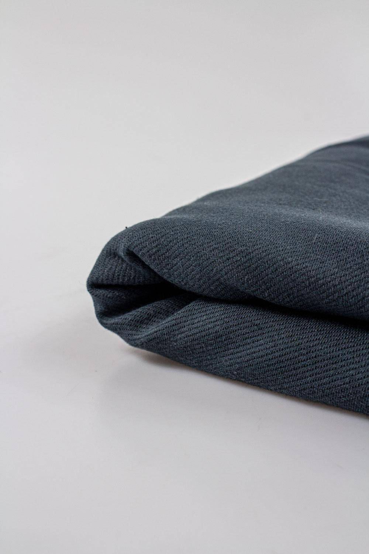 Dresówka a'la jeans - szary 155cm 290g/m2 STOK