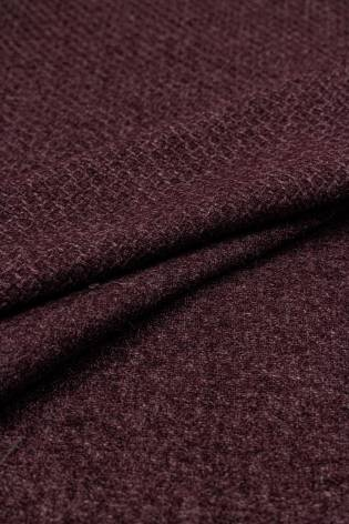 Tkanina płaszczowa w kolorze bordowy/wino - 155cm 230g/m2 STOK thumbnail