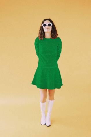 Dzianina jersey wiskozowy - zielony - 175cm 140g/m2 thumbnail