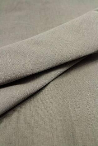 Tkanina pościelowa lniana popielata - 165cm 150g/m2 STOK thumbnail