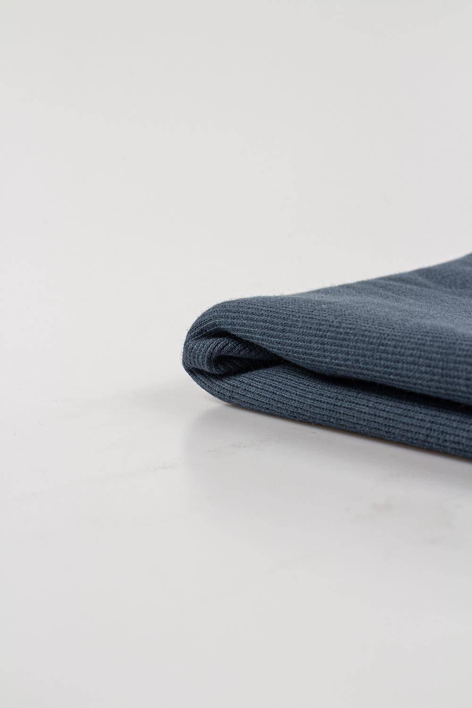 Knit - Welt - Ribbed - Graphite - 55 cm/110 cm - 310 g/m2