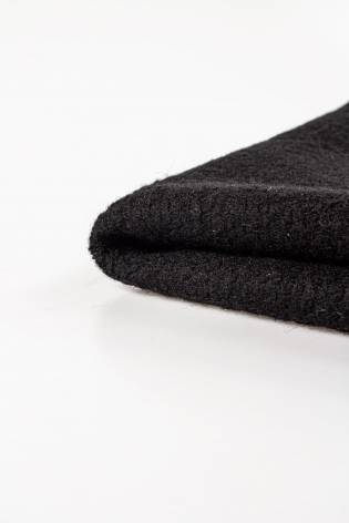 Fabric - Wool - Boucle - Black - 150 cm - 480 g/m2 thumbnail