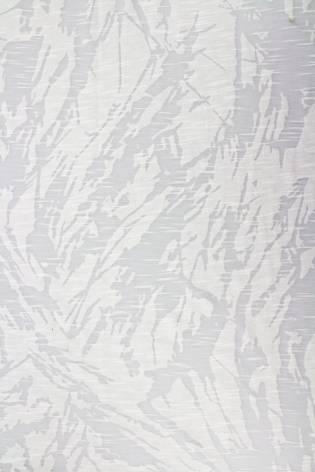 Dzianina jersey transparentny ze wzorem - biały - 165cm 120g/m2 thumbnail