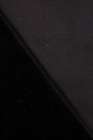 Welur tapicerski - czarny - 145cm 565g/m2 thumbnail