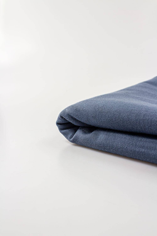 Dzianina jersey - denim - 180cm 200g/m2 STOK
