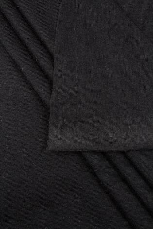 Dzianina jersey - czarny  - 190cm 240g/m2 thumbnail