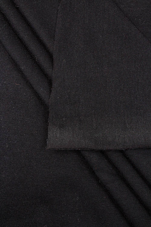 Dzianina jersey - czarny  - 190cm 240g/m2