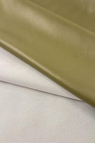 Fabric - Eco Leather - Olive - 150 cm - 240 g/m2 thumbnail