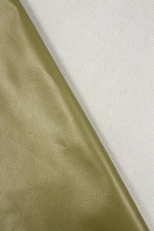 Eko-skóra khaki - 150cm 240g/m2