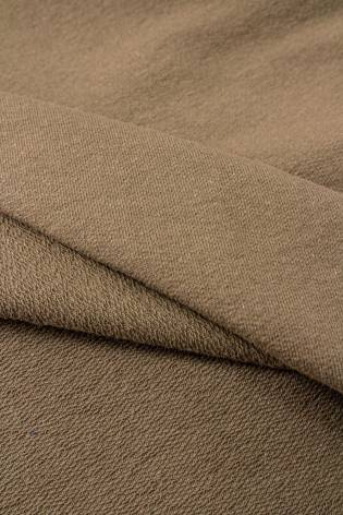 Knit - French Terry - Military Khaki/Brown - 190 cm - 250 g/m2 thumbnail