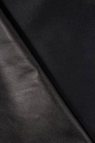 Eko-skóra czarna - 140cm 230g/m2 - 1