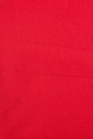 Knit - Welt - Smooth - Red - 80 cm/160 cm - 260 g/m2 thumbnail