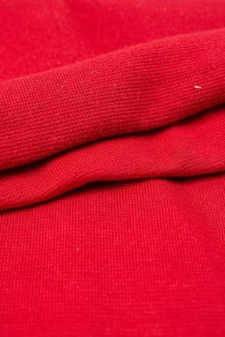 Dzianina ściągaczowa gładka - czerwony 80cm/160cm 260g/m2 thumbnail