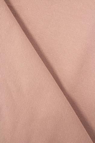 Tkanina drelich bawełniany  brudny róż - 155cm 270g/m2 thumbnail
