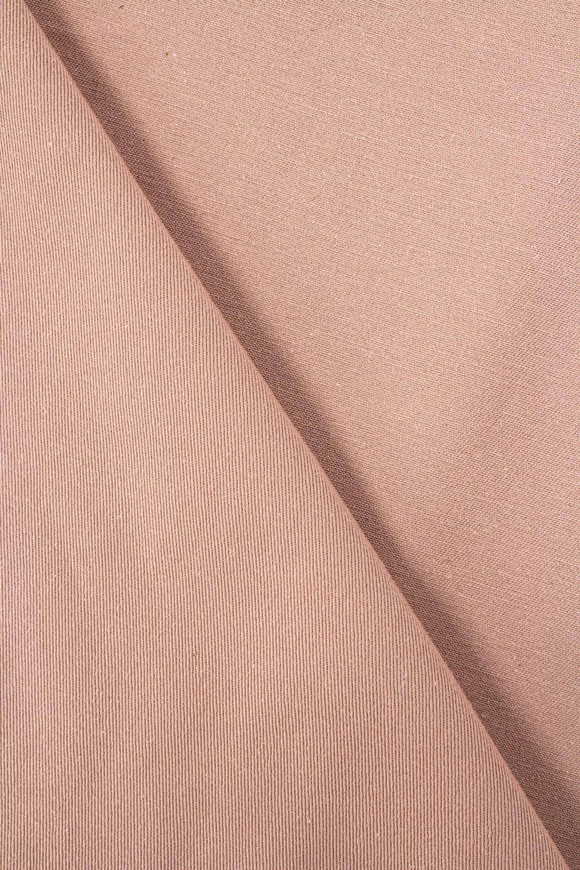 Tkanina drelich bawełniany  brudny róż - 155cm 270g/m2