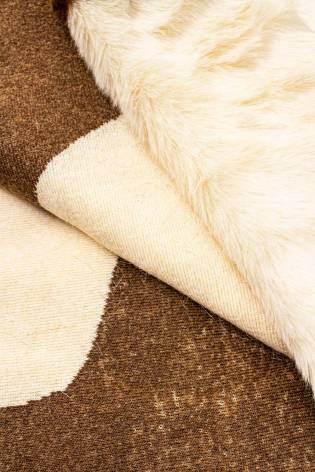 Fabric - Eco Fur - Cow - 150 cm - 600 g/m2 thumbnail