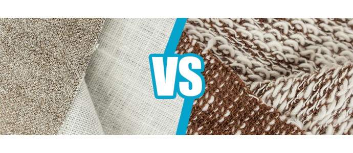 Fabric versus knitwear - see the differences