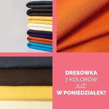 🌈Na jaki kolor dresówki najbardziej czekacie? Już w poniedziałek znajdziecie u nas dresówkę drapaną 100% bawełny w różnych kolorach! • . . . #dziane #dresowka #szyjemy #szycie #krawiectwo #ubrania #dresówka #samauszyłam #uszytki #maszynadoszycia #diy #dresowkadrapana #bawełna #szwaczka