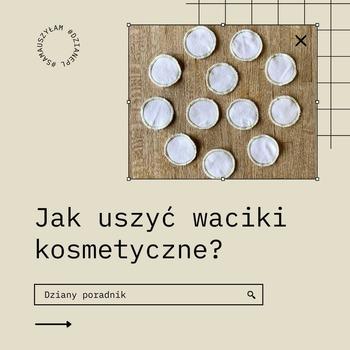 ,🌱🙋Czy są tutaj fanki trendu zero waste?  Dzisiaj podpowiadamy, jak zrobić waciki wielokrotnego użytku. To bardzo proste!👌  ✂️👋Jesteśmy ciekawi, czy chętnie skorzystacie z naszych szyciowych porad • . . . #dziane #waciki #ekologia #zerowaste #uroda #demakijaż #bawełna #kordonek #szycie #szyciowapasja #szyjemywpolsce #krawcowa #szyjemy  #wacikiwielorazowe #wacikidodemakijażu #maszynadoszycia #poradnik #homemade #samauszyłam