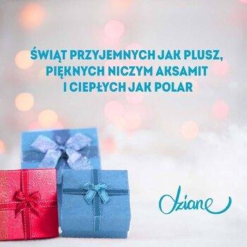 🎄✨Jak tam Wasze świętowanie? • . . . #dziane #plusz #polar #aksamit #święta #gwiazdka #życzenia #szyjebolubie #szyjemy