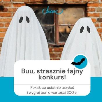 #KONKURS 👻  🎃Pochwal się, co ostatnio uszyłaś i wygraj bon o wartości 3⃣0⃣0⃣ zł na zakupy w sklepie https://dziane.pl/pl/!  ⚡⚡Nie muszą być to oczywiście stroje na Halloween – chcemy podziwiać wszystkie, strasznie ładne, komfortowe i stylowe uszytki spod Twojej igły 🧙♂ Twój płaszcz na jesień, wygodna bluza, sukienka lub ciepły sweter będą idealne!🍁  💀Zasady zabawy są upiornie proste:  🎃dodaj zdjęcie elementu garderoby lub całej stylizacji w komentarzu pod  postem konkursowym na fanpage'u dziane.pl, 🎃zbierz największą liczbę pozytywnych reakcji, 🎃odbierz bon o wartości 3⃣0⃣0⃣ zł na zakupy na dziane.pl.  ⚡⚡Buu, wyniki zabawy poznamy w Halloween, czyli 31.10.🧟♀  Powodzenia! 👻 • . . . #dziane #szyjemy #szyciowapasja #szyjebolubie #materiał #płaszcz #bluza #sukienka #bluzka #uszytki #strójnahalloween #halloween #krawcowa #nagroda #instakonkurs #dzianina #dresowka #maszynadoszycia