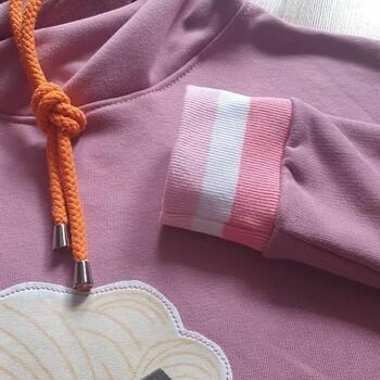 🌸Dresówka pętelka przydała się do odszycia pięknej, różowej bluzy. W sam raz na wiosnę! 🍀🐰@_justyna__m • . . . #dziane #bluza #dresowka #dresowkapetelka #samauszyłam #krawcowa #maszynadoszycia #ściągacz